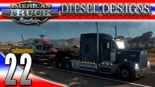 American Truck Simulator! Today, we purchase a new truck, pick up a Helicopter and start hauling to Carlsbad, then hire a new driver to expand the business a...