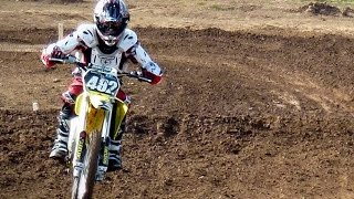 9. First time on a motocross bike!! / Suzuki RM85