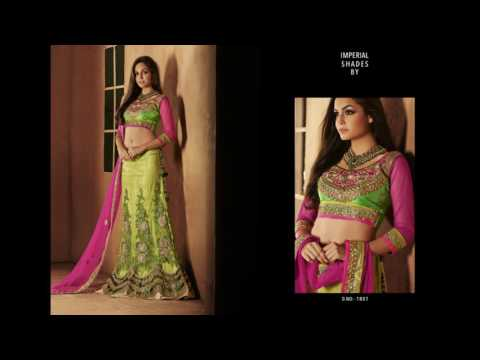 IMPERIAL SHADES - Heavy Work Sarees Collection