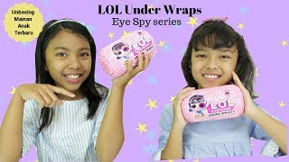 Video UNBOXING LOL SURPRISE UNDER WRAPS EYE SPY SERIES ♥ Mainan anak terbaru MP3, 3GP, MP4, WEBM, AVI, FLV Oktober 2018