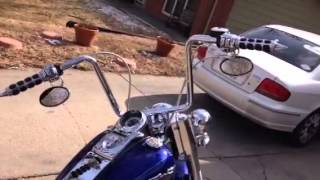 1. 2006 Harley Davidson Softail deluxe