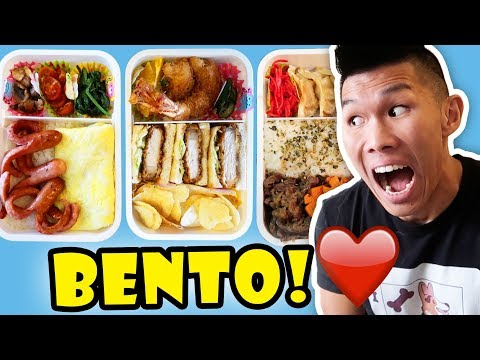 Making BENTO BOX For BREAKFAST LUNCH + DINNER || Life After College: Ep. 569