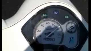 10. Vespa LX 125 at Top Speed