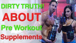"""What is the best pre workout supplement? This video exposes the dirty truth about pre workout supplements in 2017 and why 99.9% of them are under-dosed or lacking the perfect blend of ingredients.★ Master Shredder 24 Hour Fat Loss + Aesthetics Builder -http://www.AlphaLion.Com/Master-Shredder★ Science Of Abs 8 Week Program (Get Epic Six Pack Sculpting + Fat Loss Results Using the Pre Fatigue Phenomenon that Pro Athletes and Ripped Movie Stars Use)★ http://www.AlphaLion.Com/Science-Of-AbsThe DIRTY TRUTH About Pre Workout Supplements  What Is The Best Pre Workout Supplement?https://youtu.be/YUOabWGQbD4These are my thoughts on Pre Jym pre workout, GHOST pre workout, PRE JYM and many more popular pre workout supplements that are meant to """"enhance"""" your workout. Throughout my research I am fully convinced that their is not ONE PRE-WORKOUT in the entire world that I would consider PERFECT as in containing the best pump inducing ingredients, anti stress, and absorption.What are your thoughts? I would love to hear your feedback in the comments below. You guys are like family to me and I want you to help me create the best pre workout supplement in the world!"""