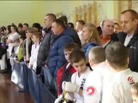 ТВ V Открытое Первенство Гомельской области по Эншин каратэ 2014