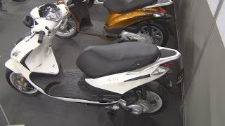 9. Piaggio Fly 50 4T 4V Exterior and Interior