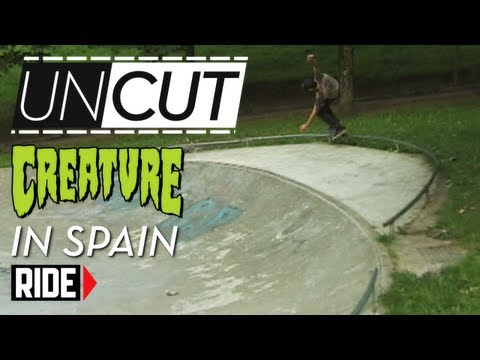Uncut - Raw footage outtakes from Creature Skateboards