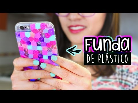 Fundas de celular caseras - Como decorar una funda de movil ...