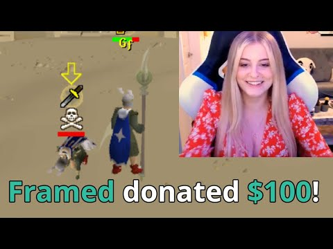 Donating to Streamers who can beat me in RuneScape