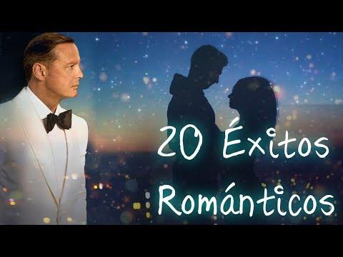 Versos de amor - Los 20 Grandes Éxitos Románticos en Español - Mix de Luis Miguel, Ricardo Montaner y  más
