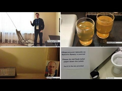 Journalists find hotels 'unfinished' – Sochi 2014 – BBC News