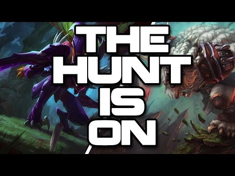 Kha'zix Vs Rengar - The Hunt Is On! #1