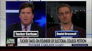 Tucker Carlson v. Daniel Brezenoff in a heated debate over the legitimacy of the Electoral College Vote in giving the election to ...