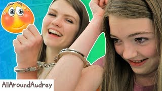 Hey guys! In today's video my sister JustJordan33 and I will be handcuffed to each other for 24 hours! This means that we had to use the bathroom together, eat together, and even go to the grocery store handcuffed together! This was a very hard challenge and embarrassing to do in public! __Subscribe for videos every Thursday!☆http://www.youtube.com/channel/UCS0kA-D1M87dDfkWRl_DLJA?sub_confirmation=1Comment down below if you would ever do this challenge!♡Like this video if you enjoyed!Here are some more videos I think you might like:Operation Slime Challenge: https://www.youtube.com/watch?v=FycQVuqxORwCoke and Mentos Challenge: https://www.youtube.com/watch?v=ZZD0C2Fu-vsLip Retractor Challenge: https://www.youtube.com/watch?v=IXKf89bTx_EFast Food Fondue Challenge: https://www.youtube.com/watch?v=oUgfiExrN4URainbow Ice Bath Challenge: https://www.youtube.com/watch?v=sM8tujZbsLUNever Have I Ever: https://www.youtube.com/watch?v=n340lu1BIpYTwisted Twister:  https://www.youtube.com/watch?v=XzR_twNyxSEHungry Hungry Hippos Game Twist: https://www.youtube.com/watch?v=Z0kuKpzfh0YFamily Lip Retractor Challenge: https://www.youtube.com/watch?v=y_ridJVmS8EYou can send fanmail! AllAroundAudreyP.O. Box 6792N. Logan, Utah 84341__Follow Me On:Instagram- https://instagram.com/allaroundaudrey/Twitter- https://twitter.com/AllAroundAudreyFacebook- https://www.facebook.com/AllAroundAudrey?ref=profilePinterest- https://www.pinterest.com/allaroundaudrey/Musical.ly- AllAroundAudreyYouNow: AllAroundAudrey__♡ My Sister's Channel: https://www.youtube.com/channel/UCHOMvu3axPhTG5zLqrHynig♡ My Brothers' Channel: https://www.youtube.com/channel/UCCHmMn-aFceiyb81Z-fu-zw♡ Our Family Channel: https://www.youtube.com/channel/UCbZgDzTkBQMkPWYBFESJ3sQ♡ Check Out My Previous Video: https://www.youtube.com/watch?v=uOpmcgIHjzI♡ For Business Inquiries: AllAroundAudrey99@gmail.com__Music Credits:Daily Beetle by Kevin MacLeod is licensed under a Creative Commons Attribution license (https://creativecommons.org/licenses/by/4.0/)Source: http://incompetech.com/music/royalty-free/index.html?isrc=USUAN1500025Artist: http://incompetech.com/Malt Shop Bop by Kevin MacLeod is licensed under a Creative Commons Attribution license (https://creativecommons.org/licenses/by/4.0/)Source: http://incompetech.com/music/royalty-free/index.html?isrc=USUAN1100496Artist: http://incompetech.com/__Thanks for Watching!XOXO,Audrey