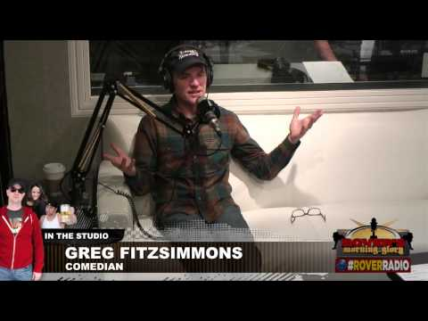 Comedian Greg Fitzsimmons Interviewed