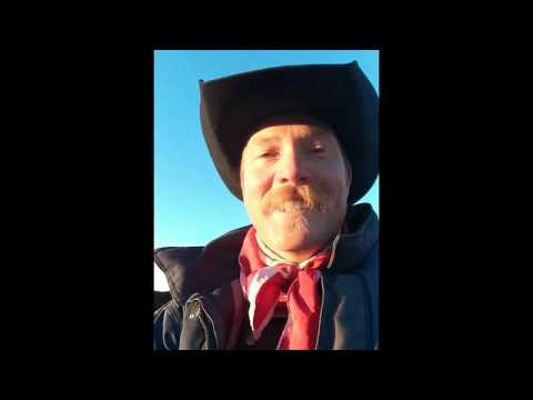 Mustache Quote of the Day ~ Cowboy w/ a Scottish Accent