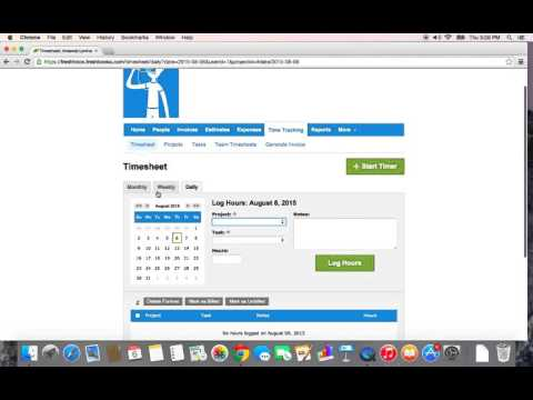 Freshbooks - Tracking & Invoicing Your Time