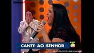 Cassiane Canta Com Muito Louvor No Programa Do Ratinho (15/07/2013)