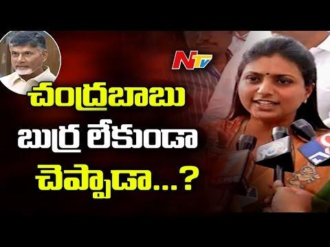MLA Roja Sensational Comments on Chandrababu Naidu Over Challenge on YS Jagan