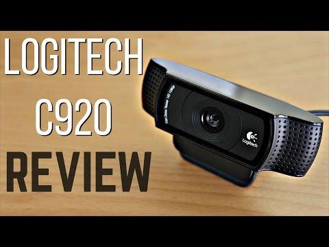 Logitech C920 HD Pro Webcam Review + Test