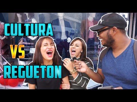 Cultura General Vs Reguetón(reggaetón y trap) - preguntas en el Centro de Tegucigalpa, Honduras