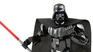 LEGO Star Wars Darth Vader (Timelapse & Review) - Set 75111