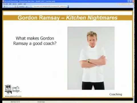 ASTD CPLP: Coaching (CPLP Mastery Series clip) Training Certification