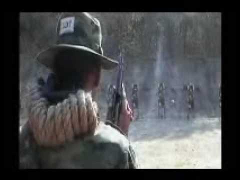 การฝึกหลักสูตรทหารเสือราชินี