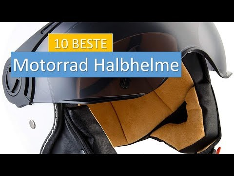 ★★★der Top Zehn Beste Motorrad Halbhelme de