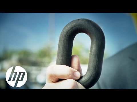 Jet - Watch as a 1/4 lb 3D printed chain link, created using new HP Multi Jet Fusion™ Technology, lifts a car straight off the ground! Learn more about HP Multi Jet Fusion™ Technology here: http://bu...