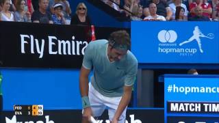 Roger Federer First Match Of 2017 (HD)Hope you will enjoy