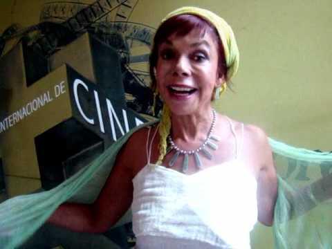 Meche Carreño en el Festival Internacional de Cine : Expresión en Corto