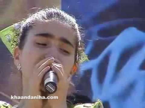 tajik - A nice song in Persian by Negareh Khaloua the Tajik singer.
