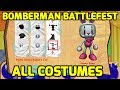 Bomberman Live Battlefest xbox 360 All Costumes includi