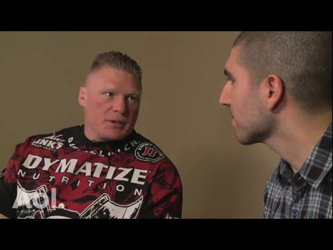 Brock Lesnar Talks Undertaker Confrontation TUF 13 Junior dos Santos