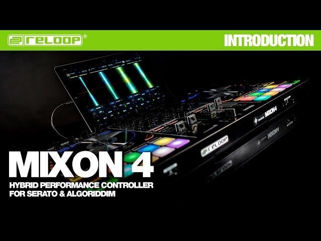 RELOOP MIXON 4: HIGH PERFORMANCE HYBRID DJ CONTROLLER