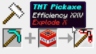 Minecraft UHC but you can combine any item with TNT..