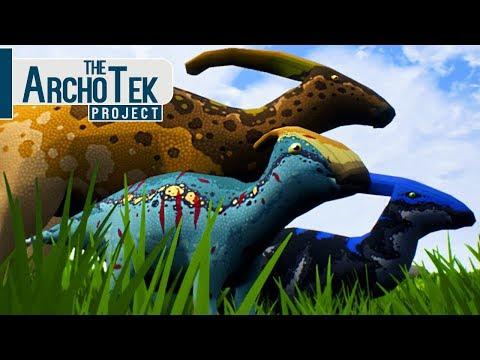 The Archotek Project - Bebê Parasaurolophus, Grande Jornada!  Dinossauros (#13) (PT-BR)