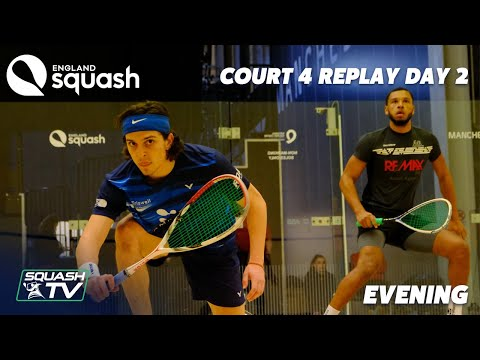 AJ Bell England Squash Super 8 - Court 4 - Day 2 Afternoon