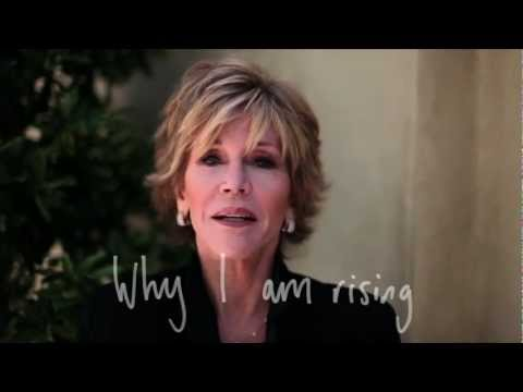 Jane Fonda Girls - One Billion Rising: Jane Fonda on why she is joining Eve Ensler's campaign Actor and writer Jane Fonda explains why her mother's experience means she's joini...