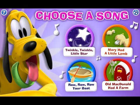 Mickey Mouse Clubhouse | Pluto's Musical Maze - Gameplay