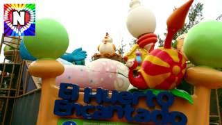 Видео для детей Детская площадка и Герои из  Улица Сезам Парк Развлечений Funny Play area for kids