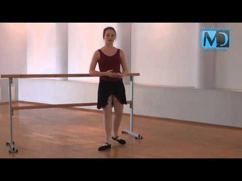 Видео урок Классического Балета: позиция ног.