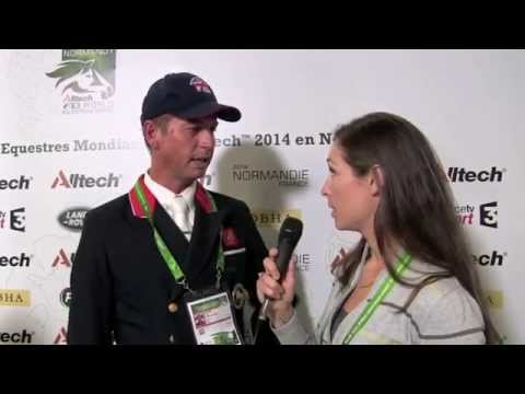 WEG dressage individual: Carl Hester talks to H&H [VIDEO]