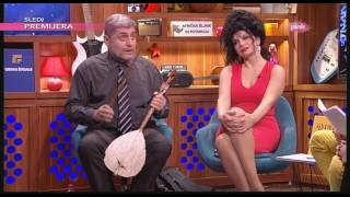 Miroljub Petrovic svira gusle - Ami G Show S09