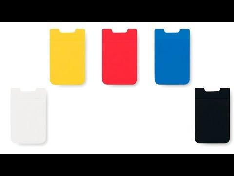 Funda de silicona multiusos personalizada azul
