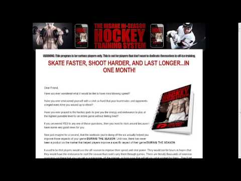 Training program for Hockey players – Click HERE to Discover!