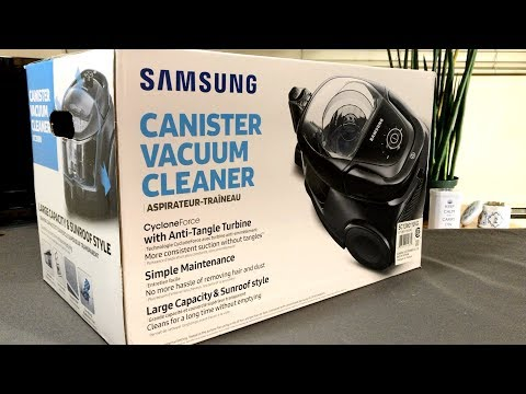 Unboxing the Samsung VC3100 Canister Vacuum Cleaner