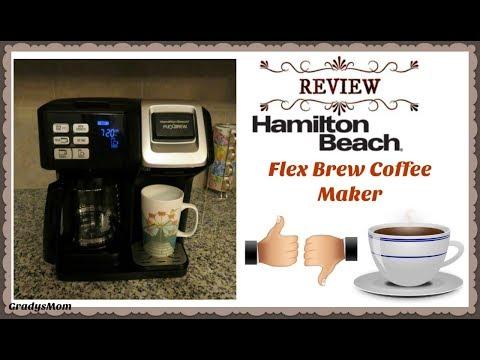 Review: Hamilton Beach Flex Brew Coffee Maker   Pros & Cons