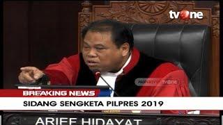 Video Detik-detik Hakim MK Ancam Usir Bambang Widjojanto Karena Terus Protes MP3, 3GP, MP4, WEBM, AVI, FLV Juni 2019